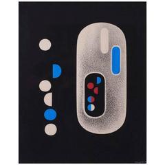 Casein Artwork by Richard Filipowski, 1948-50