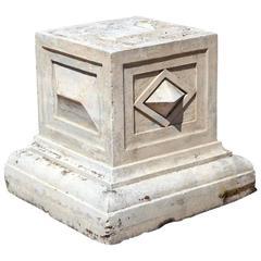 Baroque Style Cast Stone Pedestals