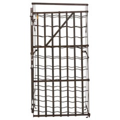 French Metal Wine Rack