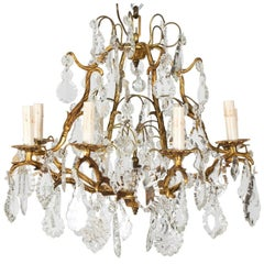 Crystal Chandelier, circa 1870