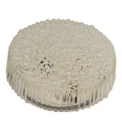 Bubble Textured Hustadt Leuchten Flush Mount