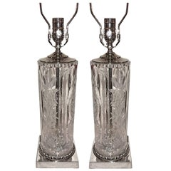 Cut Glass Table Lamps