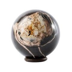 Petrified Wood Decorative Ball