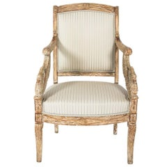 Early 19th Century French Empire Chair