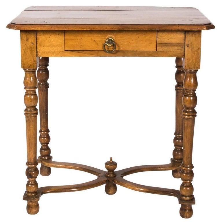 19th Century German Walnut Table