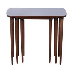 Danish Modern Mahogany Nesting Tables