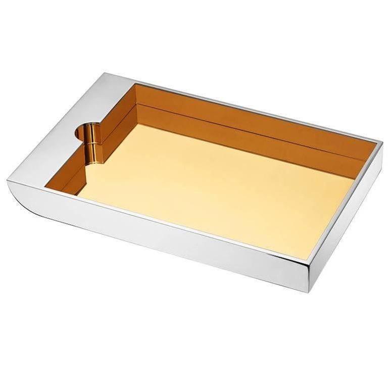 Bureau d'Architecte Paper Tray by Joseph Dirand & Puiforcat For Sale