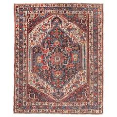 Antique Afshar Carpet, circa 1900