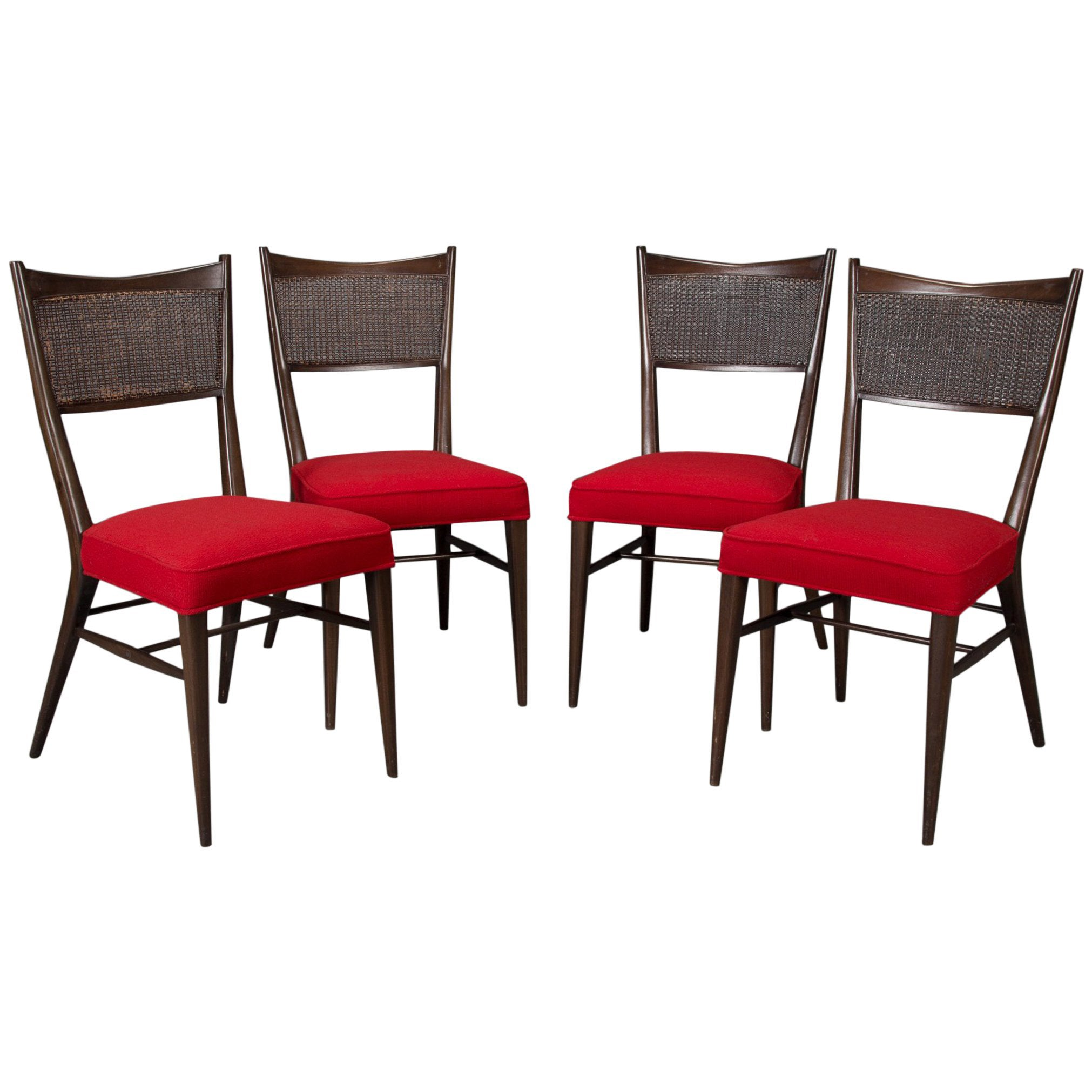 Set of Four Irwin Collection Dining Chairs by Paul McCobb for Directional