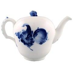 Royal Copenhagen Blue flower braided Tea pot.