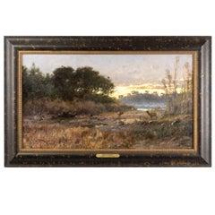 """Snake River Marshes Near Jackson, Wyoming"" by John Fery"