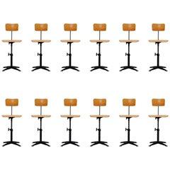 Friso Kramer Drafting Chair Set Ahrend de Cirkel, 1963