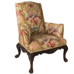 Late 19th Century Chippendale Style Arm Chair