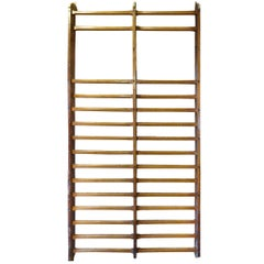 French Gymnasium Wood Stall Bars