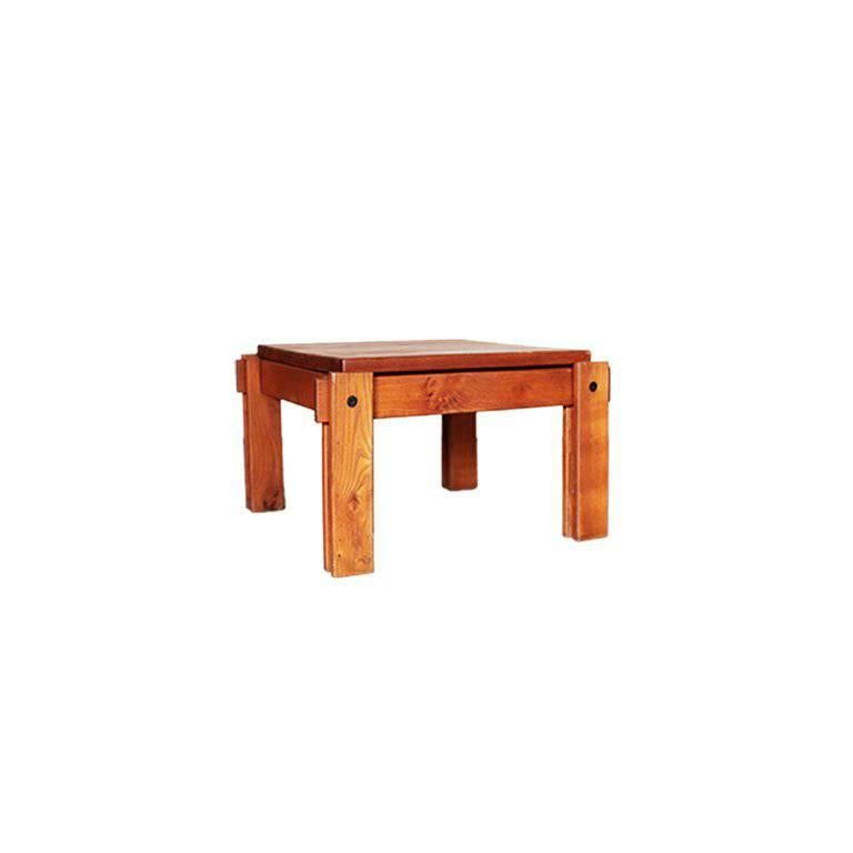 Danish modern square low coffee table for sale at 1stdibs Low coffee table square