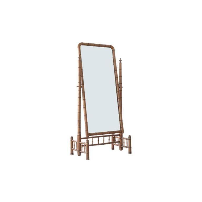 "Bamboo ""Psyche"" Mirror"