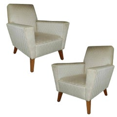 Pair of Art Deco armchairs circa 1945