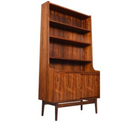 Danish Modern Midcentury Bookcase in Rosewood by Johannes Sorth #2