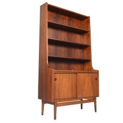 Danish Modern Midcentury Bookcase in Rosewood by Johannes Sorth #3