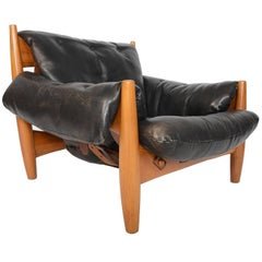 Sergio Rodriguez Sheriff Chair in Black Leather