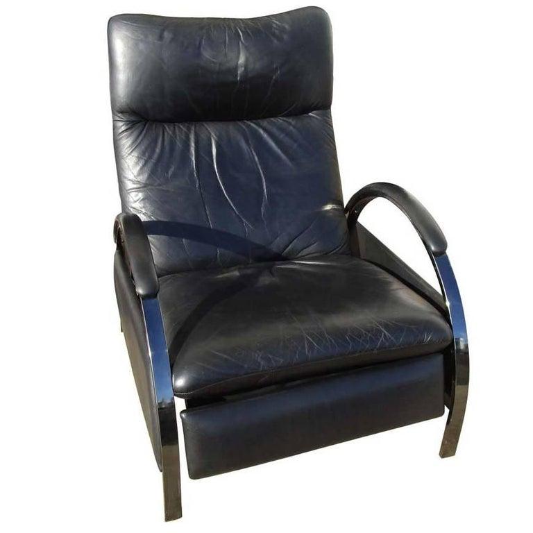 Vintage DIA Milo Baughman Reclining Lounge Chair