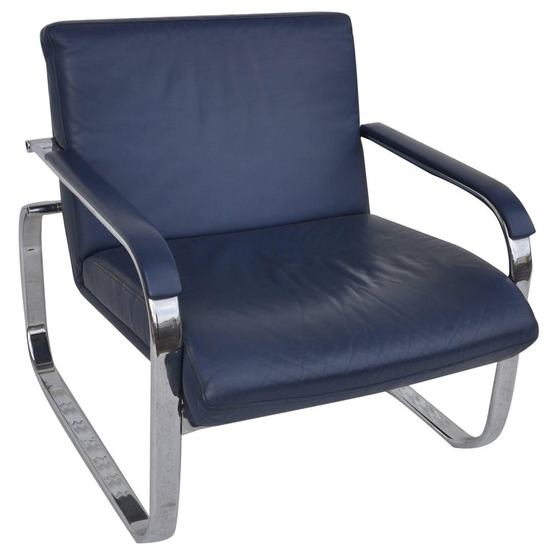 Midcentury Lounge Chair in the Style of Milo Baughman