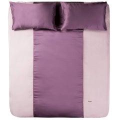 Duvet Cover Set - Powder Pink Bordeaux