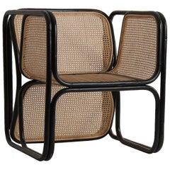 Design and Original Rattan Armchair