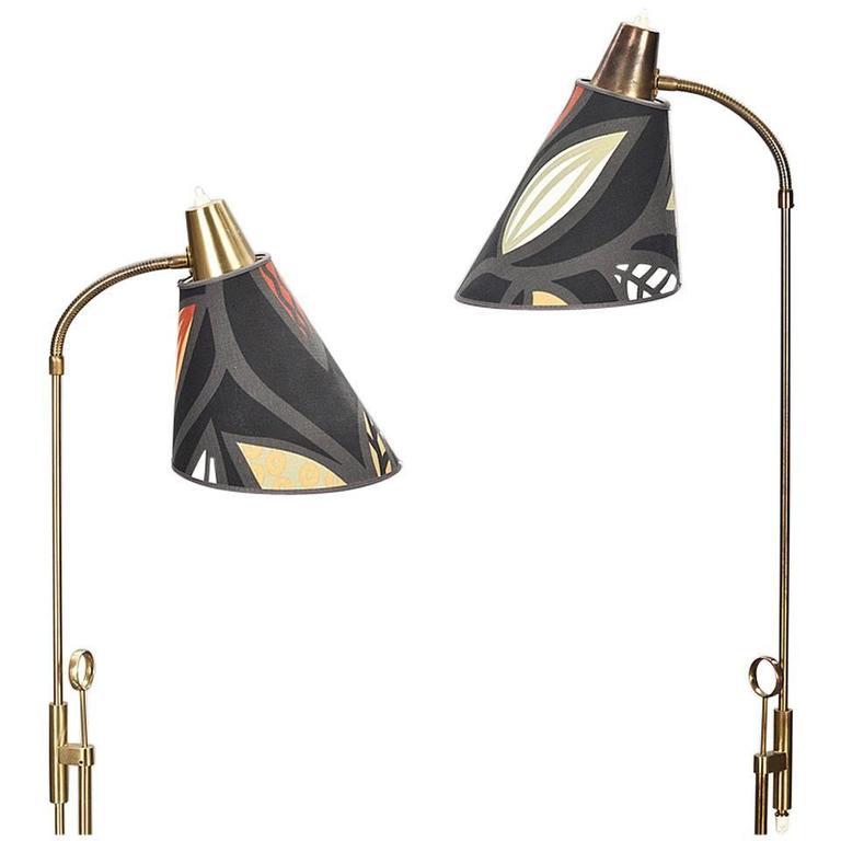 Pair of Floor Lamps by Falkenberg