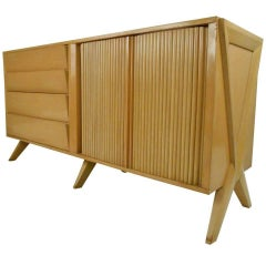 Vintage Modern Bedroom Dresser after Paul Laszlo