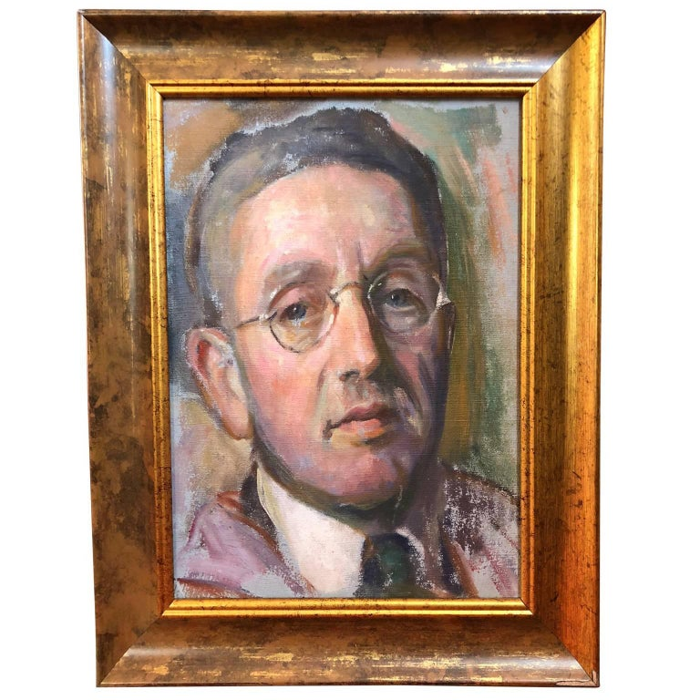 Joseph Sacks, Impressionist Self Portrait