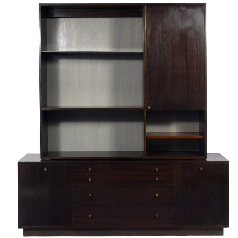 Harvey Probber Two-Part Cabinet or Credenza