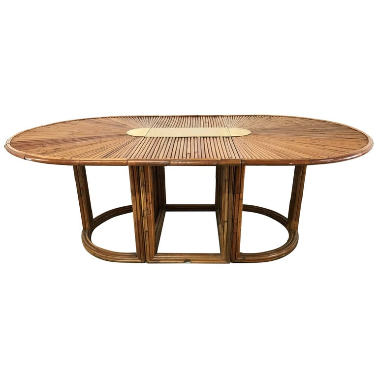 "Gabriella Crespi ""Rising Sun"" Dining Table For Sale"
