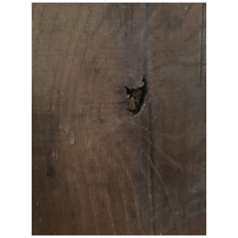 French Antique Flooring Solid Wood Oak, 17th-18th Century, France For Sale