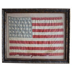 46 Star Oklahoma Flag in Red White Blue from Oklahoma 1907