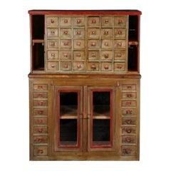 Portuguese Wooden Cabinet