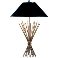Straw-Like Table Lamp