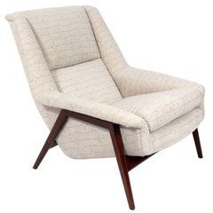 Danish Modern Lounge Chair by Folke Ohlsson