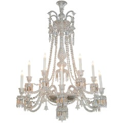 Exquisite French Baccarat Chandelier