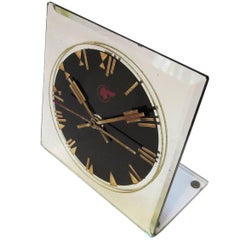 Art Deco Pontiac Automobiles Executive Desk Clock