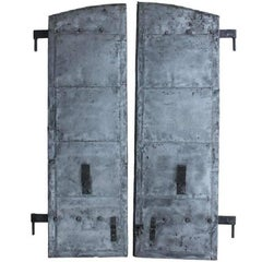 Antique Distillery Metal Shutters, More Available
