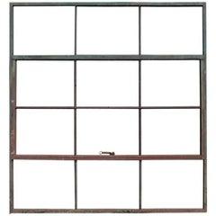Antique Factory Casement Metal Window