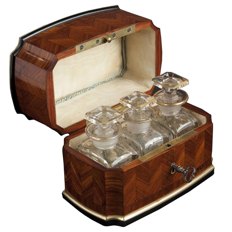 Exclusivist Perfume Box Napoleon III by Tahan Paris For Sale at