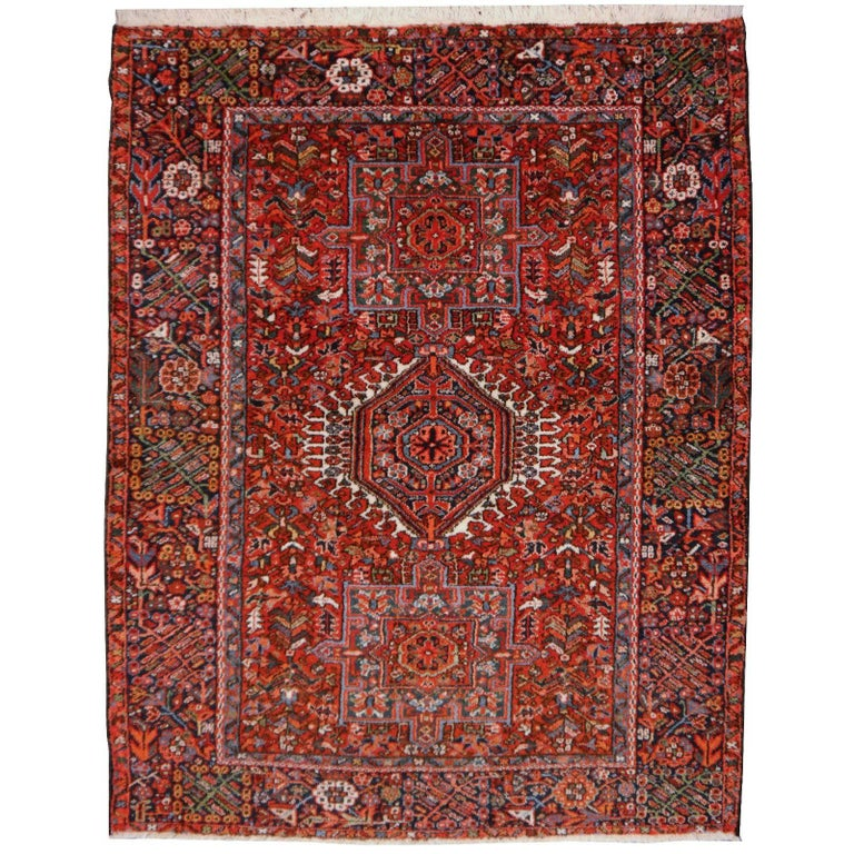 Heriz Persian Antique Rug
