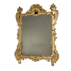 Italian Carved Gilt Mirror