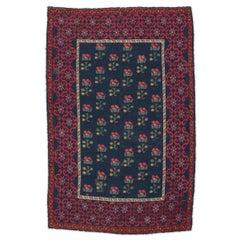 Late 19th Century Spanish Antique Rug. Design Alpujarra.