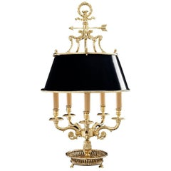 Black Table Lamp Five Lights