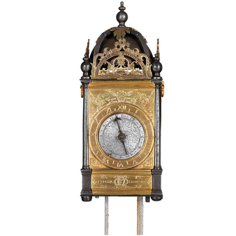 16th Century Renaissance Turret Wall Clock