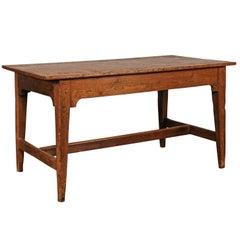 English Pine Table, circa 1840