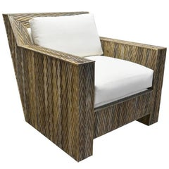 Chevron Lounge Chair